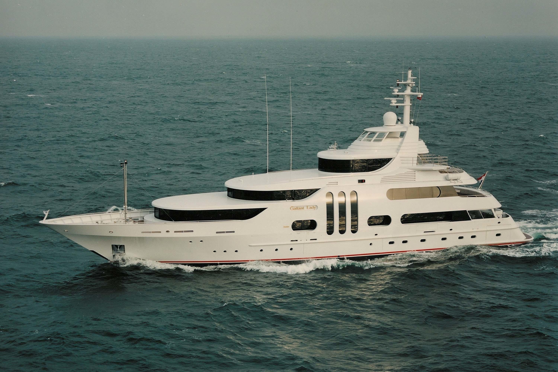 Yacht GALLANT LADY Feadship CHARTERWORLD Luxury Superyacht Charters